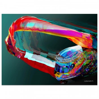 Fernando Alonso | Ferrari | Spanish Grand Prix | 2013 | Art Print