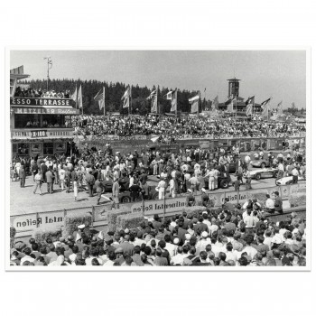 1957 German Grand Prix Start Grid | Photograph