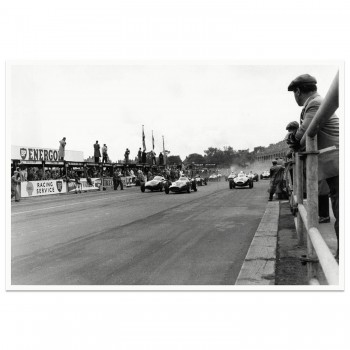 1957 British Grand Prix | Aintree | Startline | Photograph