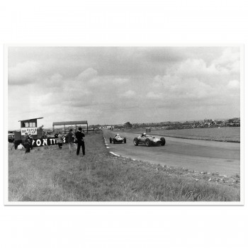 1957 British Grand Prix | Aintree | Trintignant & Salvadori | Photograph