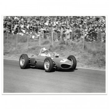 1961 Dutch Grand Prix | Wolfgang von Trips | Ferrari Dino 156 | Photograph