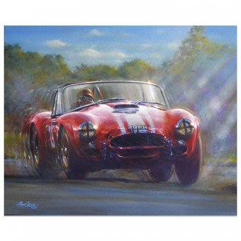 Cobra Strikes Back | Goodwood TT 1964 | Artwork