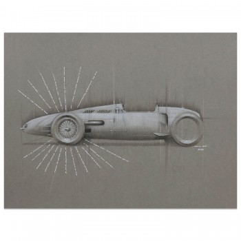 Auto Union V16  | 1934 | Original Art
