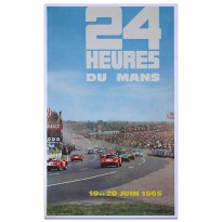 French | Le Mans 24 hours 1965 Poster