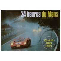 French | Le Mans 24 Hours 1971 Poster