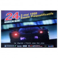 French | Le Mans 24 hours 1998 Essais (Practice) Poster