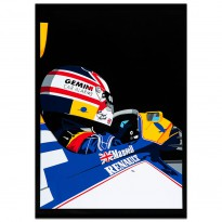 SPEED ICONS: Mansell and Williams - Print