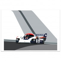SPEED ICONS: Porsche Return to Le Mans Series No.2 - Print