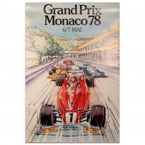 French | Monaco Grand Prix 1978 Poster