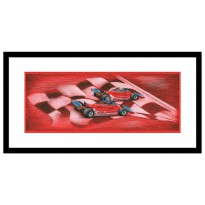 Seasons Best | Villeneuve / Scheckter | Ferrari | 1979 Formula 1 | Original Art