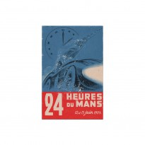 French | Le Mans 24 hours 1954 Poster