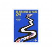 French | Le Mans 24 hours 1972 Sticker