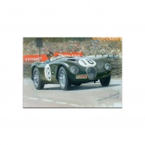 Jaguar C-type | Le Mans | Greetings Card