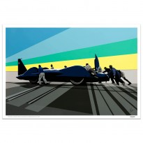 SPEED ICONS: Donald Campbell | Bluebird CN7 | Print