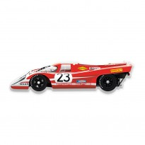 Halmo Sculpture | Salzburg Porsche 917 | Plexiglass Wall Art