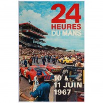 French | Le Mans 24 hours 1967 Poster
