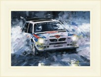 1985 RAC Rally | Tiovenan | Lancia Delta S4 | Artwork