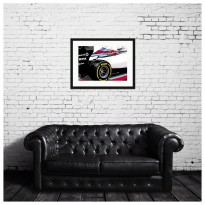 SPEED ICONS: Williams Grand Prix FW36 | Formula 1 Car | Art Print