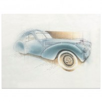 Bugatti Type 57SC Atlantic | Art Print