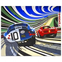 They do things bigger in Texas | Daytona Cobra Coupe | Le Mans 24 Hours | Painting