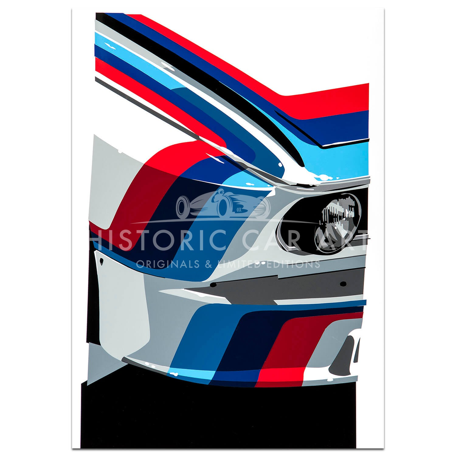 SPEED ICONS: BMW M-Sport - Print