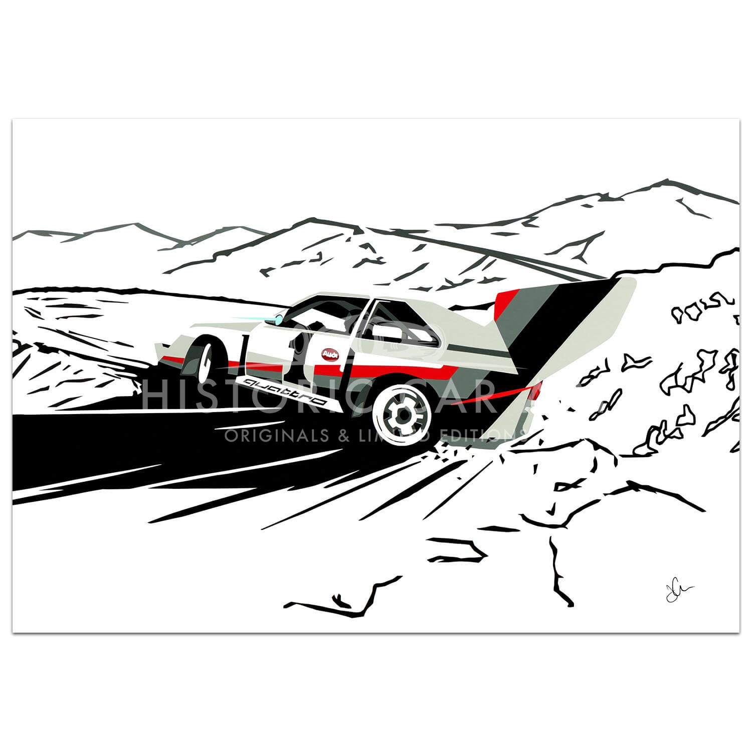 SPEED ICONS: Audi S1 Quattro | Pikes Peak | Print