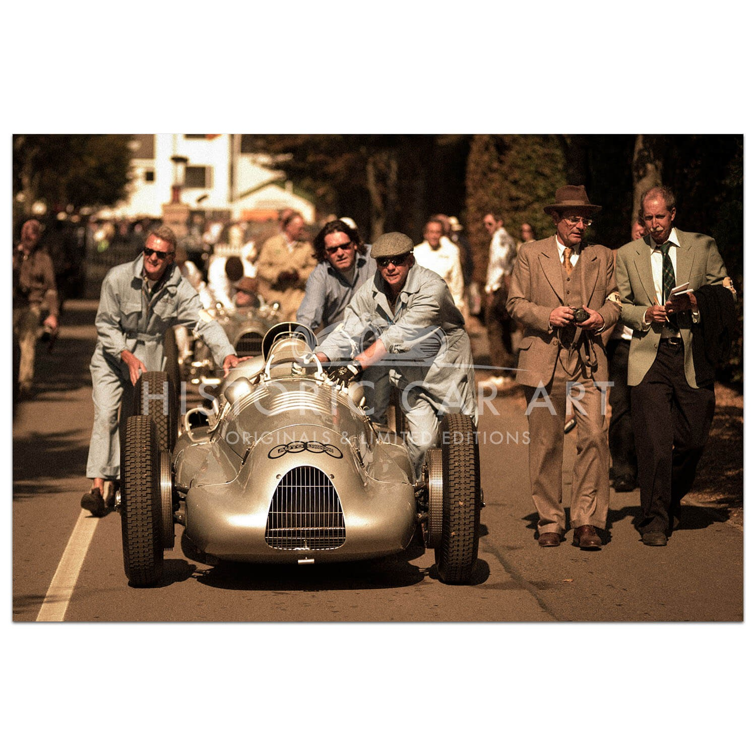 Rolling Back Time | Silver Arrows | Goodwood | Photograph