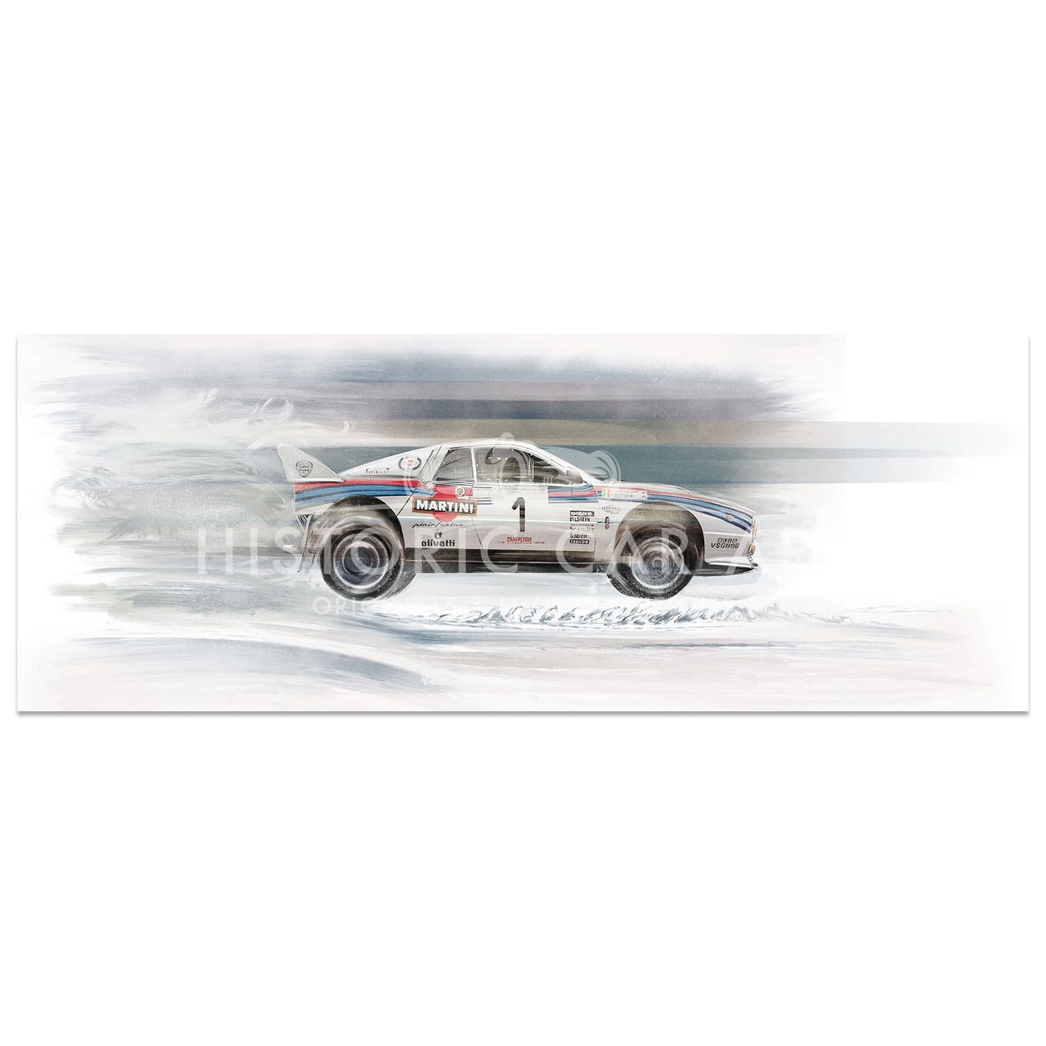 Lancia 037 | 1984 Rally Autodromo di Monza | Artwork | Art Print
