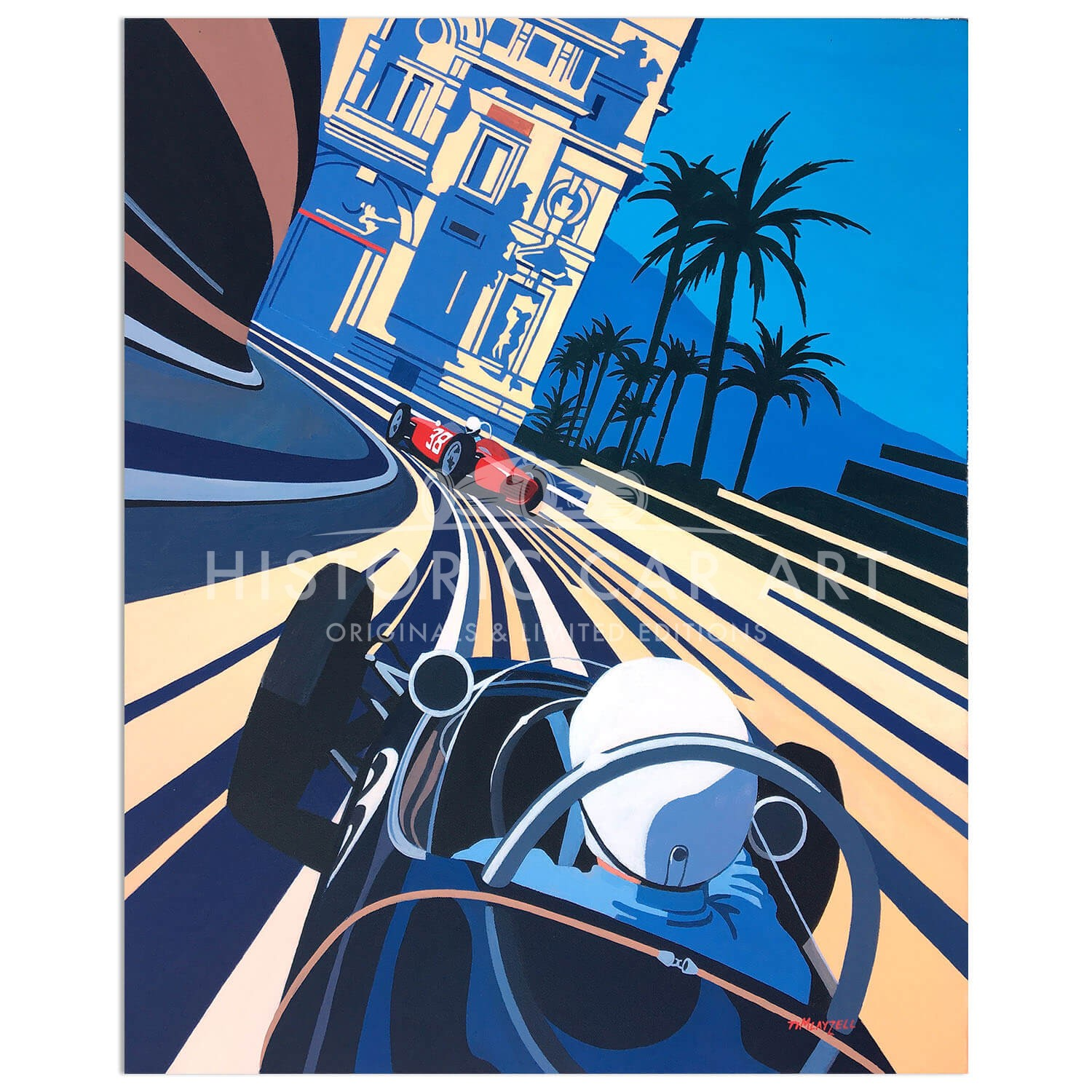 Willpower versus Horsepower | Stirling Moss | Rob Walker Lotus | Monaco Grand Prix