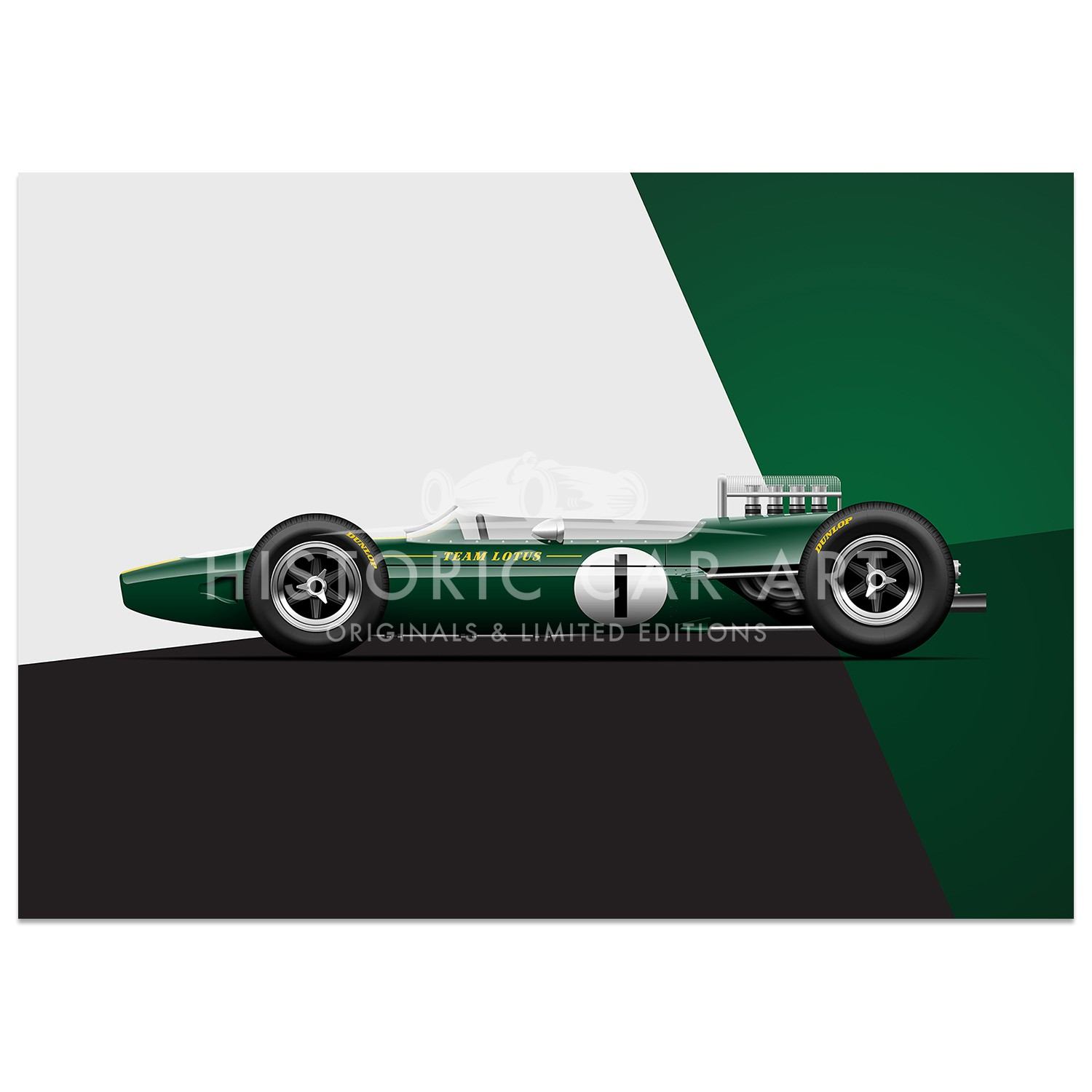 Lotus 33 - British Engineering | Art Print